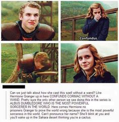 And this is one of the many reasons why I love Hermione