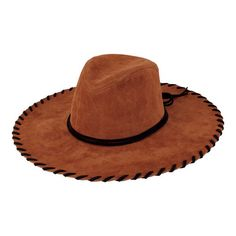 6ff3701333b023 Women's San Diego Hat Company Faux Suede Floppy Fedora CTH8033 - Tobacco  Hats Brim Hat,
