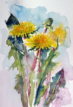 Buy Dandelion, Watercolour by Kovács Anna Brigitta on Artfinder. Discover thousands of other original paintings, prints, sculptures and photography from independent artists.