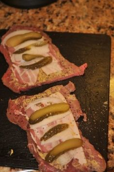 Rouladen Recipe, Beef Rouladen, German Rouladen, Polish Recipes, Meat Recipes, Cooking Recipes, Polish Food, Ninja Recipes, Lamb Recipes