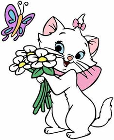The Aristocats Clip Art 2 Disney Coloring Pages, Animal Coloring Pages, Lion Painting, Fabric Painting, Disney Drawings, Cute Drawings, Baby Disney Characters, Mickey Mouse Images, Gata Marie