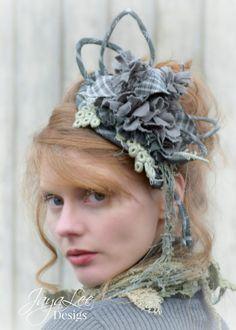 Rag Doll / Mori Girl / Fascinator Hat / jHeaddress