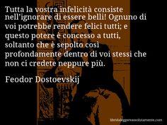 Cartolina con aforisma di Feodor Dostoevskij (35)