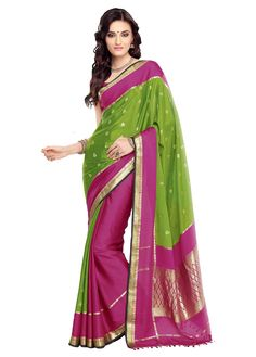 The shimmering and shining effect of Mysore Silk Sarees amazes all. #MysoreSilk #Sarees