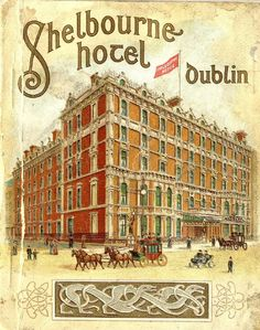 The Shelbourne Hotel Dublin, history of the hotel by Elizabeth Bowen Shelbourne Hotel Dublin, Elizabeth Bowen, Renaissance Hotel, Images Of Ireland, Book Of Life, Old Photos, Scenery, Tours, History