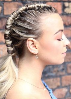 47 Super Cute Braids to Create Right Now. Looking for best styles of braids to create nowadays? See here our sensational collection of braids with long and medium haircuts to wear in 2018. Although, by its appearance it looks like some complicated but actually it is very easy to create for every single woman. So you've to see here for all these techniques.