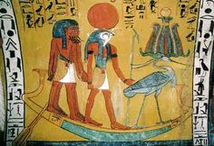 Visit the world of Ancient Egyptian gods and facts on learn about the Egyptian god Ra. Discover fascinating information and facts about Ra the Egyptian sun god. The mythology and facts about the Ra the Egyptian sun god. Egyptian Mythology Books, Ancient Egyptian Deities, Egyptian Symbols, Norse Mythology, Ancient Egypt For Kids, Creation Myth, Phoenix, Religion, Gods And Goddesses