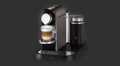 The stylish retro-modern design of the #Nespresso Citiz and Milk #CoffeeMachine from #Krups boasts a compact and intuitive design.