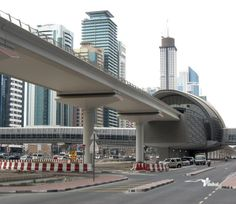 Dubai Metro Financial District Station 2012