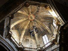 Cúpula. Catedral de Santiago de Compostela (Spain).