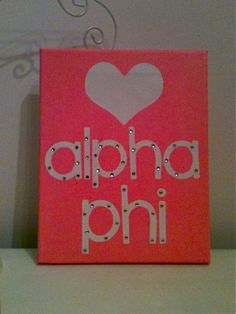 all there is for me, alpha delta pi