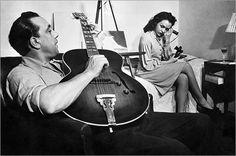 Django Reinhardt + friend, 1945