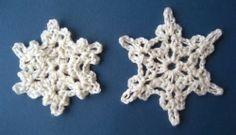 Crochet snowflakes, step by step http://febreroesasi.blogspot.com.es/2013/12/copos-de-nieve-de-crochet.html