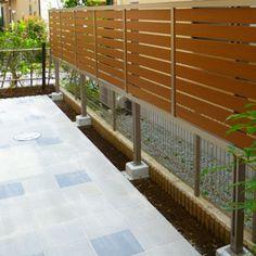 目隠しフェンスの種類 お庭のデザイン&リフォーム グリーンケア