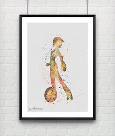 GoGo Tomago Poster Disney Big Hero 6 Watercolor Art Print by VIVIDEDITIONS