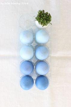 #Eier #färben... #Osterrituale... #ombre #eggs #easter