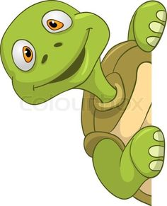 Buy Turtle by Visual_Generation on GraphicRiver. Cartoon Character Funny Turtle Isolated on White Background. Frosch Illustration, Cartoon Turtle, Funny Turtle, Baby Animals, Cute Animals, Inkscape Tutorials, Tortoise Turtle, Turtle Love, Turtle Painting