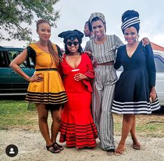 Traditional Wedding Attire, African Traditional Wedding, Traditional Dresses, African Fashion Dresses, African Dress, Xhosa Attire, African Design, Weeding, Dress Codes
