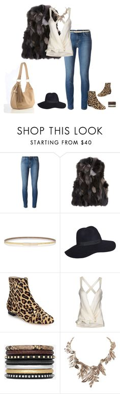 """Tara's 3"" by taras-spain ❤ liked on Polyvore featuring J Brand, Barneys New York, Jimmy Choo, Charlotte Olympia, Balmain, Yves Saint Laurent and Humble Chic"