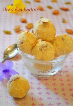 Urad Dal Ladoo / Sunnundalu / Diwali Recipes   Tasty Appetite