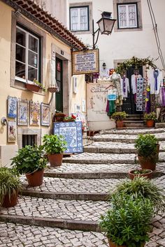 Lovely street Sintra, Portugal