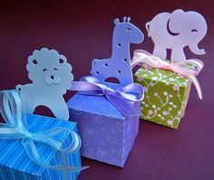 Animal Themed Party Favor Box Templates   Craftsy