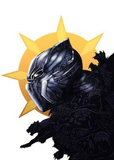 Black Panther by Kori Thompson