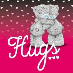 Tatty Teddy © Me to you Tatty Teddy, Teddy Bear Images, Teddy Bear Pictures, Love Hug, Love Bear, Nici Teddy, Das Abc, Hug Quotes, Hugs And Cuddles