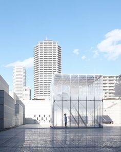 Cloudscapes at MOT by Tetsuo Kondo Architects + TRANSSOLAR / Matthias Schuler (Tokio, Japón) #architecture