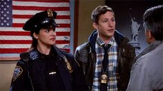 """Brooklyn Nine-Nine Season 6 Episode """"He Said, She Said"""" is a tender and timely step forward in how TV shows portray how the patriarchy impacts women at work. Social Justice Topics, Brooklyn 99 Actors, Charles Boyle, Dear White People, Jake Peralta, Netflix Documentaries, Crazy Ex Girlfriends, Andy Samberg, She Said"""
