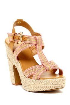 Izzy Woven Platform Sandals