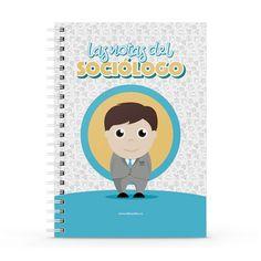 Cuaderno XL - Las notas del sociólogo, encuentra este producto en nuestra tienda online y personalízalo con un nombre. Notebook, Someone Like You, Notebooks, Report Cards, Store, The Notebook, Exercise Book