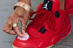 separation shoes b56b2 8859a Celebrate Self Love With The Air Jordan 4 WMNS Singles Day