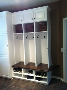 Mud Room Cubbies Design, Pictures, Remodel, Decor and Ideas - page 4