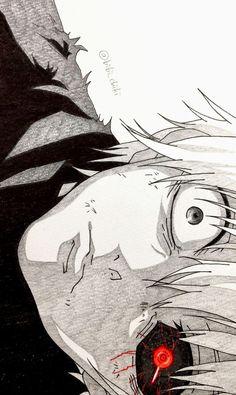 Kaneki Ken - Tokyo Ghoul:re \ ^^ / Tokyo Ghoul Uta, Tokyo Ghoul Manga, Tokyo Ghoul Drawing, Tokyo Ghoul Fan Art, Fanart Manga, Manga Anime, Anime Art, Male Manga, Anime Wolf
