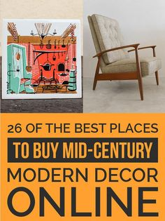 Mid Century Decorating ten essential items for mid-century modern interiors | modern