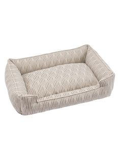 grey plush crate mat pearl lounge bed by jax