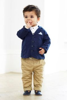 Buy Navy Jersey Jacket (0mths-2yrs) from the Next UK online shop
