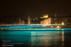 Boat's Lights in the night. by NicolasNavrot Celebrity Photography Boat Lights, Celebrity Photography, Night, Celebrities, Unique, Outdoor Decor, Home, Photography, Celebs