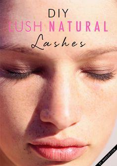 Makeup Tutorials & Makeup Tips : DIY Lush Natural Lashes Make Up Tutorials, Beauty Tutorials, Natural Everyday Makeup, Natural Makeup Looks, Make Up Looks, Makeup Tricks, Christina Aguilera, Beauty Secrets, Beauty Hacks