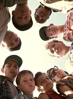 The Sandlot is one of my favorite movies of all time. To this day, the shoes I wear, the insults I hurl, the pickles I get into - all bear the indelible influence of summers with The Sandlot. Love Movie, Movie Tv, Movies Showing, Movies And Tv Shows, Benny The Jet Rodriguez, Sports Wallpapers, Iphone Wallpapers, Movie Wallpapers, We Are The World