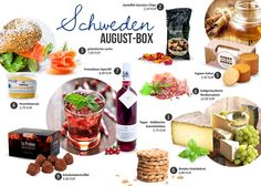 Die DELINERO-Box im August - Schweden Box, Chips, Fruit, Google, Sweden, Searching, Projects, Potato Chip
