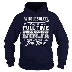 Awesome Tee For Wholesaler T Shirts, Hoodies Sweatshirts. Check price ==► http://store.customtshirts.xyz/go.php?u=https://www.sunfrog.com/LifeStyle/Awesome-Tee-For-Wholesaler-Navy-Blue-Hoodie.html?41382