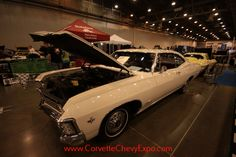 1967 Chevrolet Impala owned by Paul Gomberg on display at the Corvette Chevy Expo in Texas.