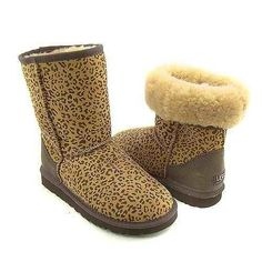 Black Friday Discount Price $39 -Ugg Classic Short 5825 Boots Leopard