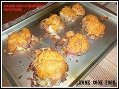 Home cook food - : Crash Hot Tandori Potatoes
