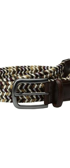 Torino Leather Co. 35mm Italian Woven Rayon Elastic (Brown Multi) Men's Belts - Torino Leather Co., 35mm Italian Woven Rayon Elastic, 65371-971, Apparel Bottom Belts, Belts, Bottom, Apparel, Clothes Clothing, Gift - Outfit Ideas And Street Style 2017