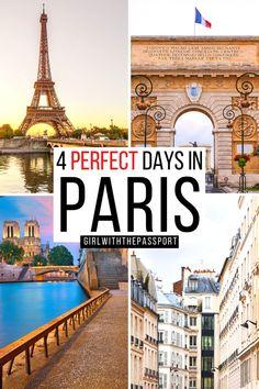 Paris France Travel, Paris Travel Guide, Paris Photography, Travel Photography, Paris City, Paris Paris, Best Cafes In Paris, Paris Itinerary 4 Days, 4 Days In Paris