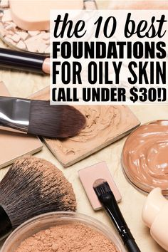 A foundation that provides long-lasting matte coverage for your oily skin is super important, and finding your true match foundation will ensure you're not worrying about how your skin looks midday or after work so you can focus on more pressing things. From Rituals Matte Finish Foundation that absorbs oil and allows your skin to breathe, to No7's hypo-allergenic formula, these are the ten best foundations for oily skin (and they're all under $30!).