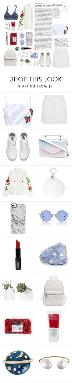 """""""i'm the face of god, i'm my father's son"""" by transitionmetals ❤ liked on Polyvore featuring Topshop, Vans, M2Malletier, Off-White, Casetify, Acne Studios, Lord & Berry, KEEP ME, Urban Originals and Korres"""